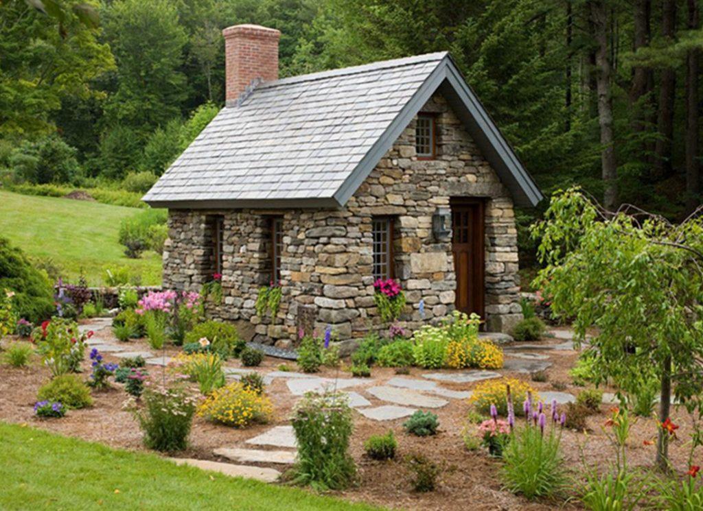 How To Build A Stone Farmhouse